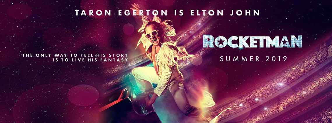 Image result for rocketman poster