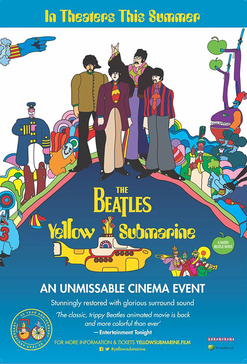 Yellow Submarine Sing-A-Long at The Lyric - movie times