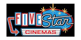 Image result for five star cinemas logo